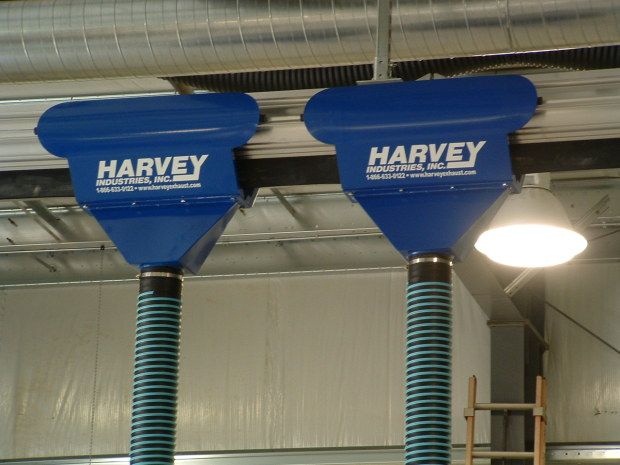 Harvey Rail Exhaust Extraction System