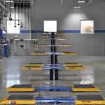 Honda Quick service Pad style Rotary Inground Lifts