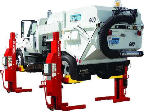 MACH4 HEAVY DUTY MOBILE COLUMN VEHICLE LIFTS