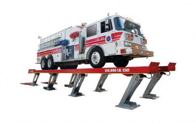 PARALELOGRAM LIFTS FireTruck