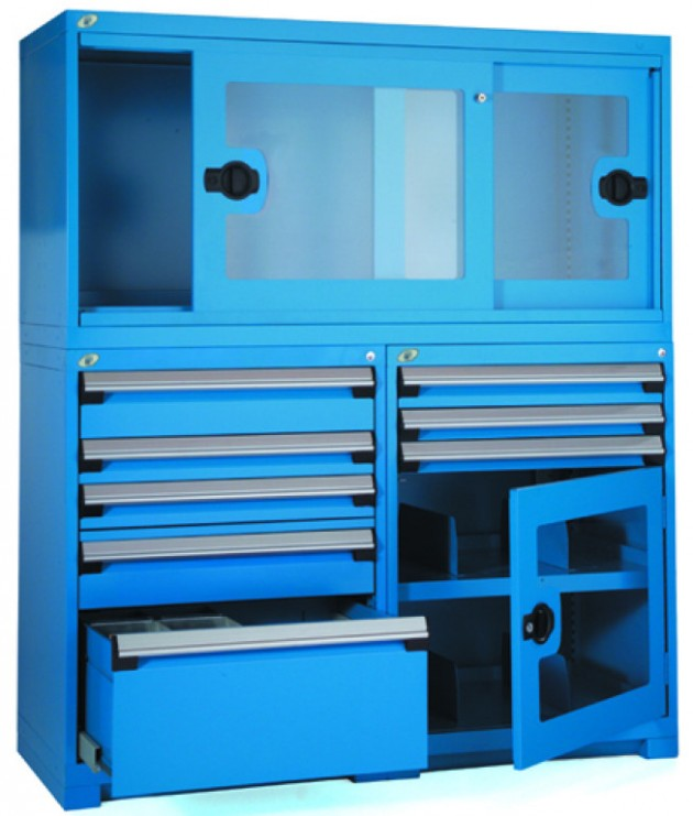 Rousseau Heavy Duty Cabinet Blue