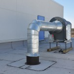 Roof Top Fan installation by Statewide
