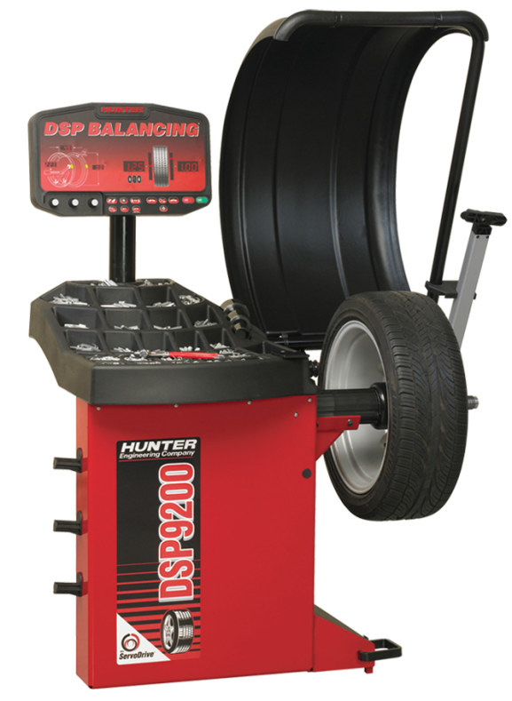Hunter DSP9200 Wheel Balancer