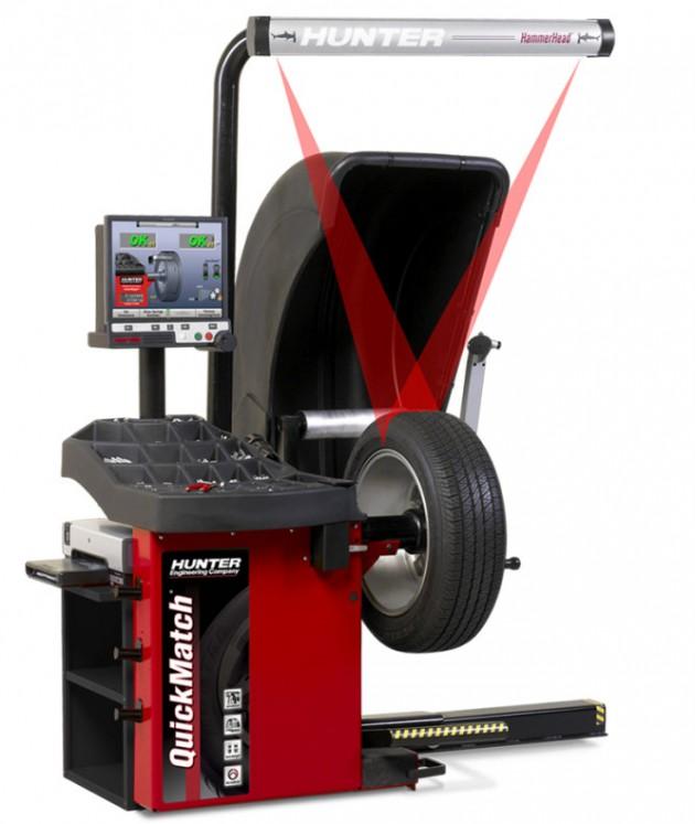 Hunter QuickMatch Wheel Balancer
