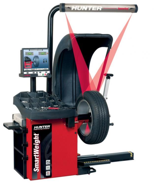 Hunter SmartWeight Wheel Balancer