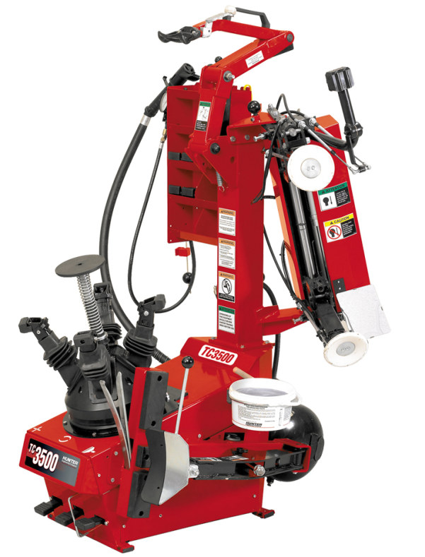 Hunter Tc3500 Tire Changer Statewide Installations