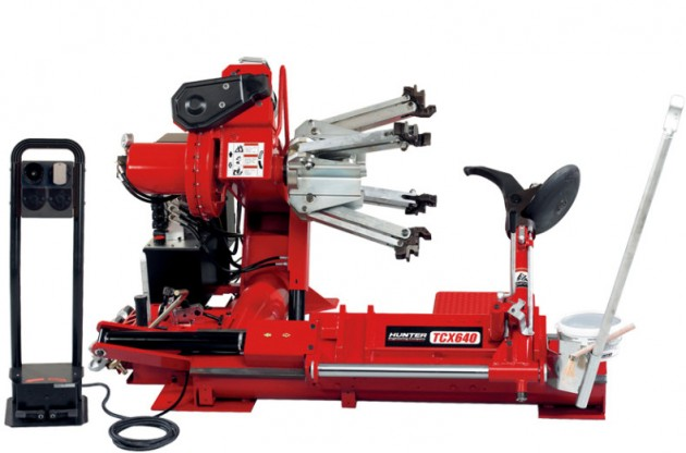 Hunter TCX640HD Heavy Duty Tire Changer